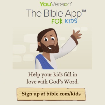 ứng dụng bible app for kids