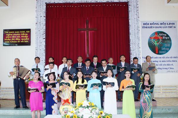 Ban hát MS-MSNC-TĐ tỉnh Kiên Giang