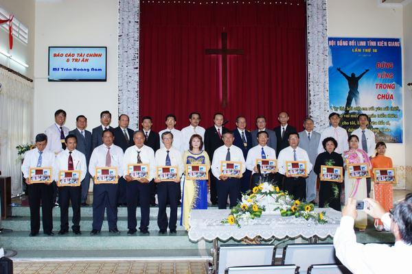 MS -TĐ và Đại diện Chấp sự các Hội Thánh