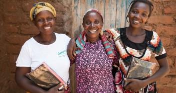 sống tuôn tràn tại Kenya