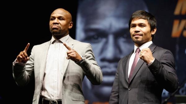 Floyd Mayweather và Manny Pacquiao