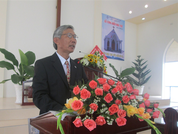 MSNC Tô Văn Minh giới thiệu và chào mừng khách mời
