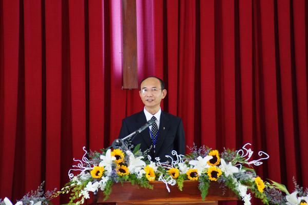 MS Nguyễn Hữu Bình - Phó Hội trưởng II rao giảng Lời Chúa