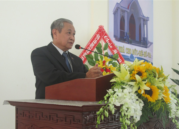 MS Phan Quang Thiệu - Tổng Thư ký Tổng Liên Hội - chia sẻ Lời Chúa
