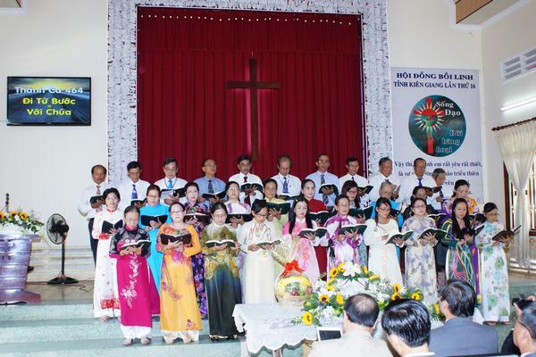 Ban hát Hội Thánh: Rạch Giá - Hòn Đất - Kiên Lương
