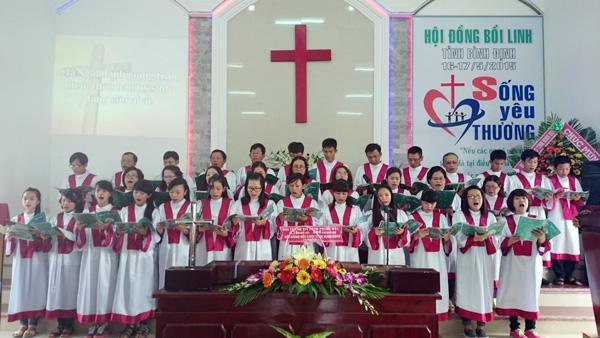 Ban hát lễ HT Trung Ái