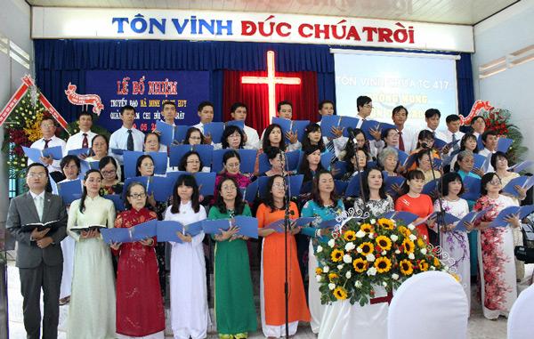 Ban hát HT Vũng tàu tôn vinh Chúa