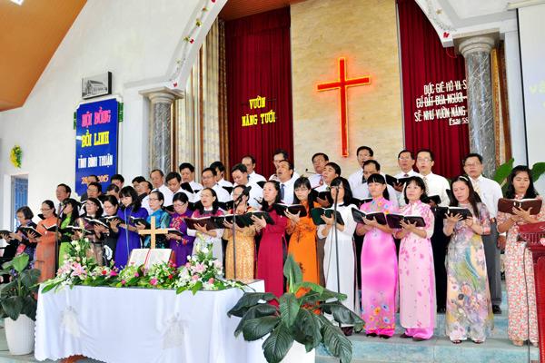 Ban hát lễ Mục sư Truyền đạo