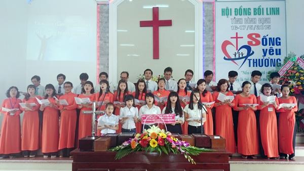 Ban hát HT Bồng Sơn