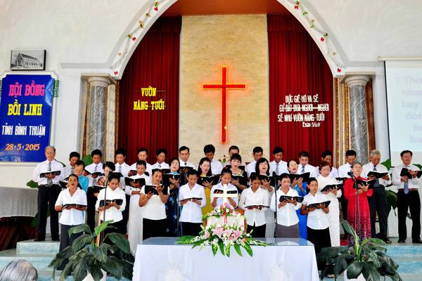 Ban hát lễ HT Phan Rí