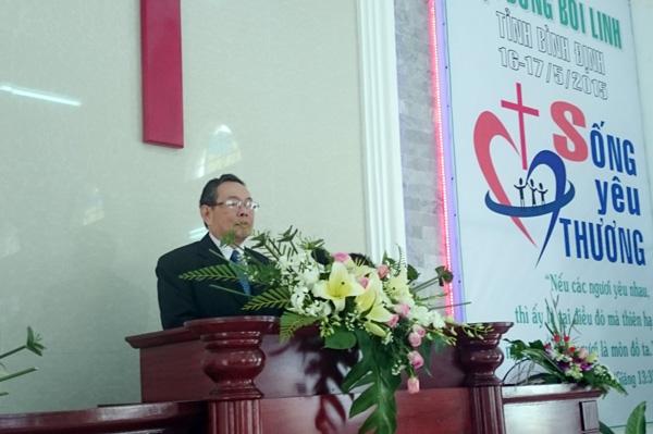 MS Nguyễn Ngọc Thuận giảng Lời Chúa