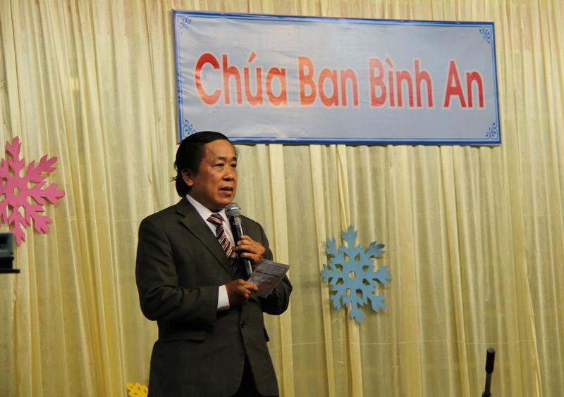Thầy Lê Văn Hải Quang kêu gọi thân hữu tin nhận Chúa