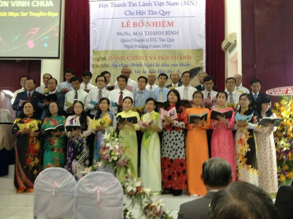 Ban hát Mục sư - Truyền đạo khu vực Tp. HCM