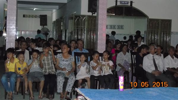 Quang cảnh buổi truyền giảng