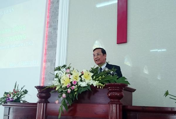 MS Phan Ân giảng Lời Chúa