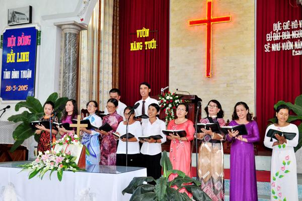 Ban hát lễ HT Ma Lâm