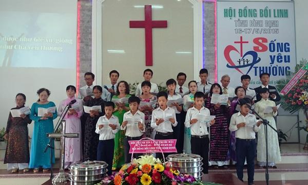 Ban hát lễ HT Bình Nghi
