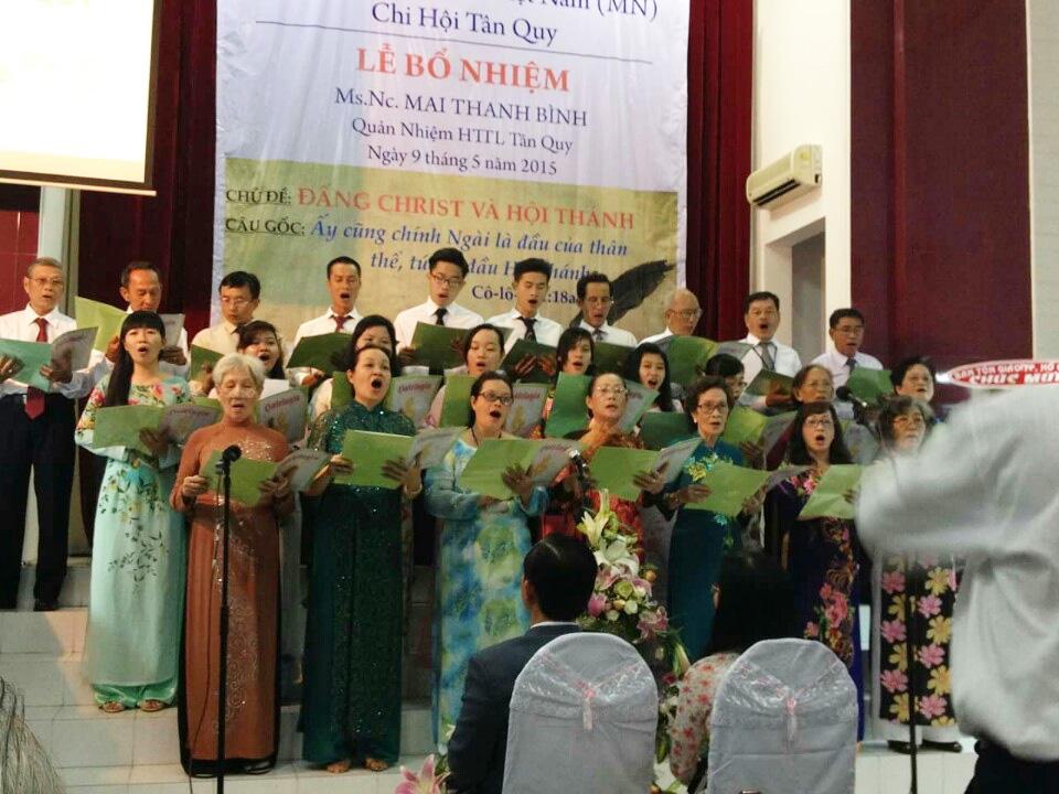Ban hát Hội Thánh Tân Quy