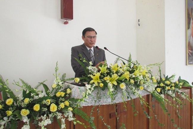 MS Lê Hoàng Phúc - UV.TLH cầu nguyện khai lễ