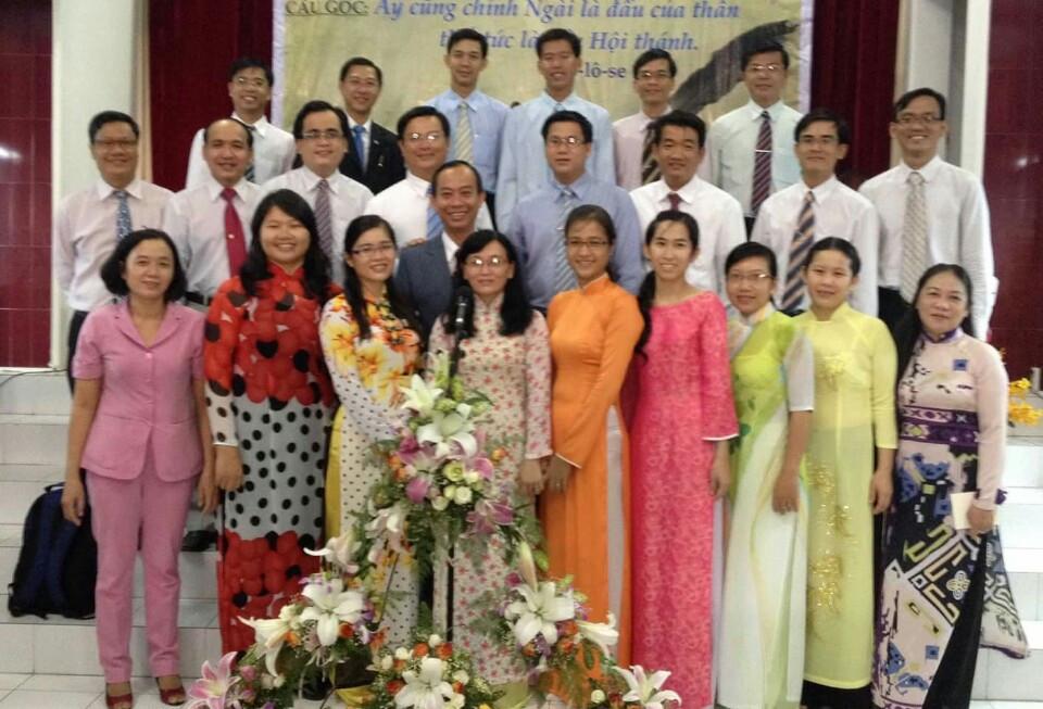 Ban hát Mục sư Nhiệm chức (khóa 2 Viện Thánh Kinh Thần Học)