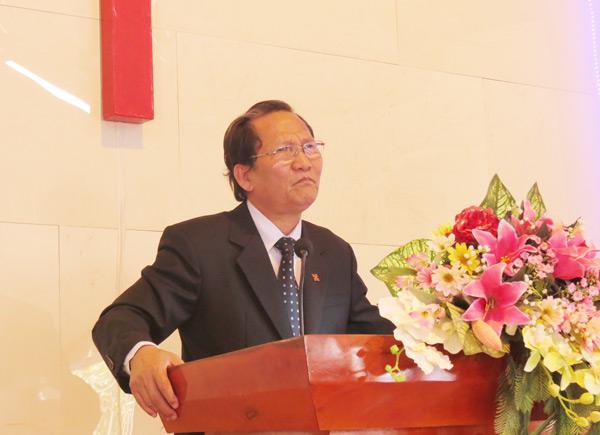 Mục sư Hội trưởng giảng Lời Chúa