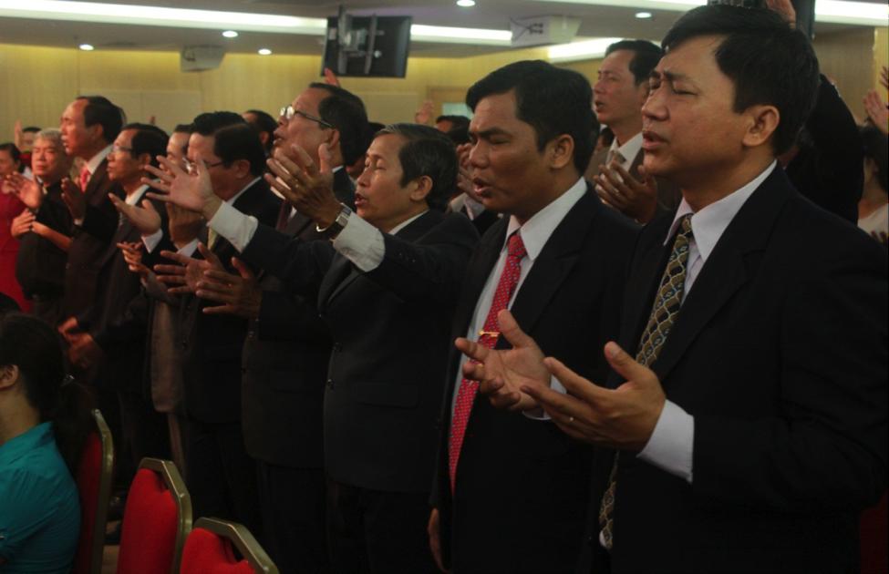 Các Thành viên mục sư đoàn HTPATV tham dự.
