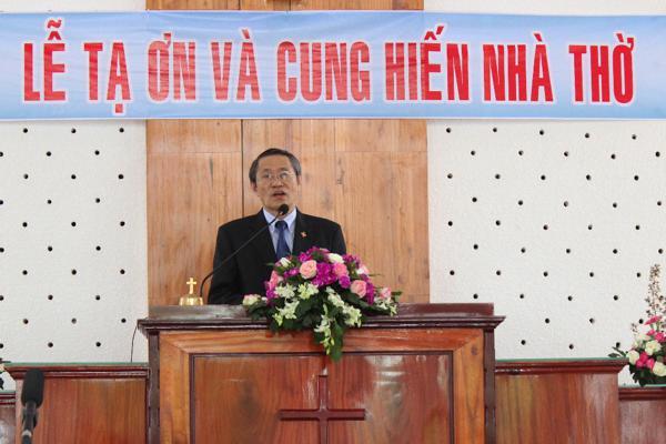 Mục sư Thái Phước Trường - Phó Hội trưởng I giảng Lời Chúa