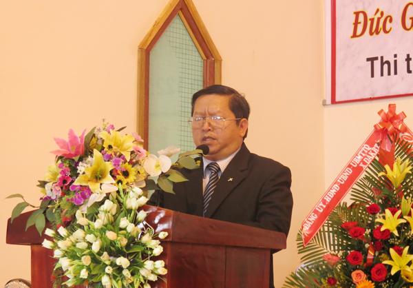 MS Phạm Văn Tính cầu nguyện đáp ứng Lời Chúa