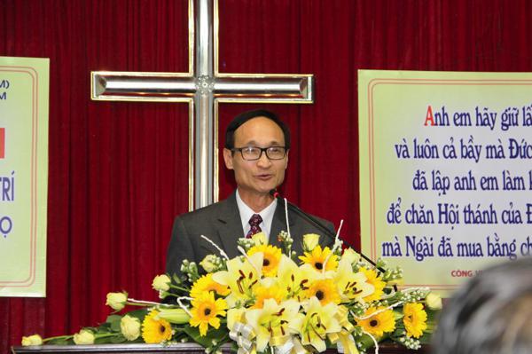 MS Phan Văn Cử - Tổng Thủ quỹ rao giảng Lời Chúa