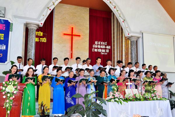 Ban hát lễ khu vực Bắc Bình Thuận