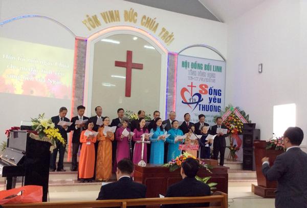 Ban hát lễ Mục sư – Truyền đạo