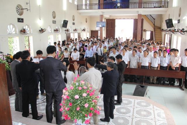 Cầu nguyện cho Tân Quản nhiệm