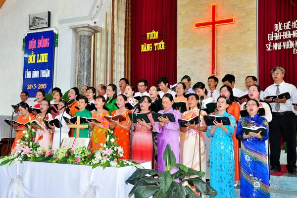 Ban hát lễ khu vực Nam Bình Thuận