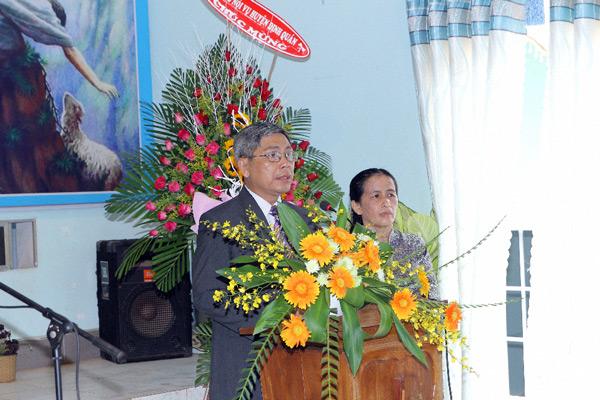 MSNC Phạm Hữu Xuân - Tân Quản nhiệm - bày tỏ tâm chí.
