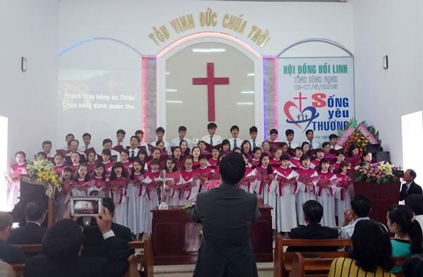 Ban hát lễ HT Khu Sáu