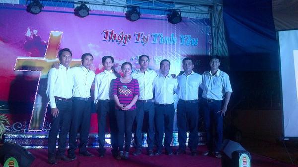 Các bạn trẻ được dự phần trong công tác truyền giảng qua việc tôn vinh Chúa