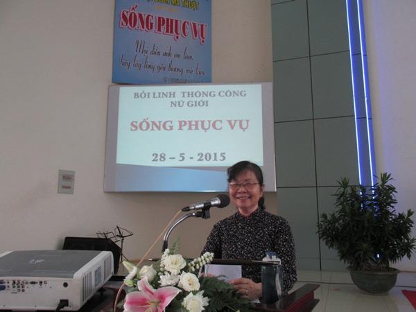 Phu nhân MSNC Nguyễn Đình Tín chia sẻ Lời Chúa