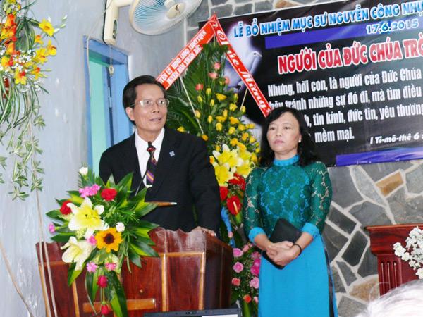 MS. Hồ Đắc Trí - Nguyên Quản nhiệm HT Phú Long - từ giã tôi con Chúa tại HT Phú Long
