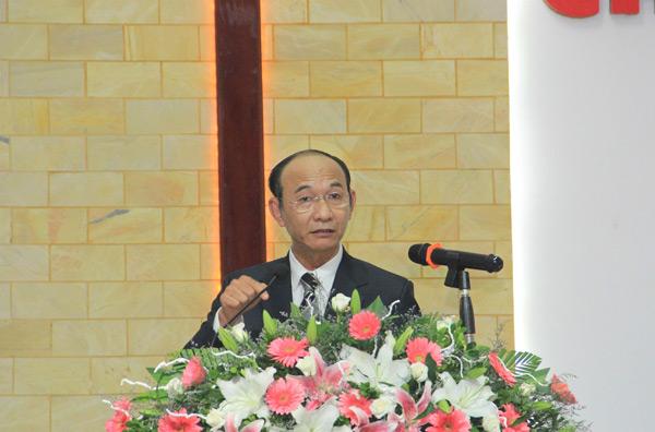 MS Nguyễn Hữu Bình, Phó Hội trưởng II, giảng Lời Chúa