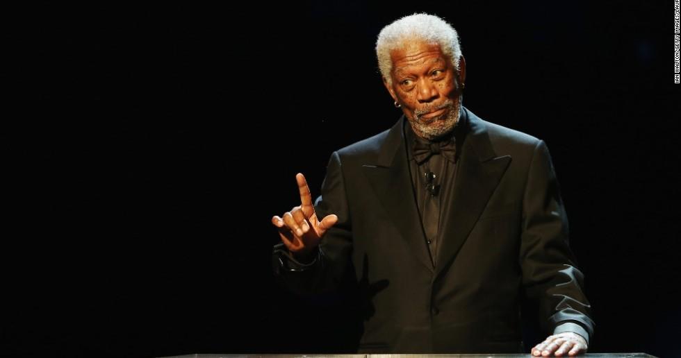 Nam diễn viên gạo cội Morgan Freeman.