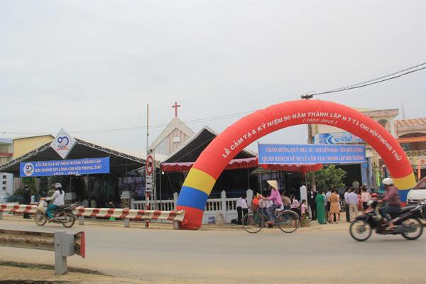 Nhà thờ Tin Lành Phong Thử trong ngày lễ