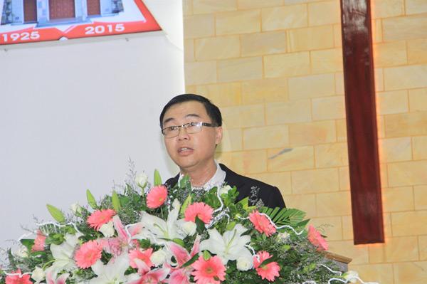 MSNC Bùi Hùng, Quản nhiệm HTTL Phong Thử có lời chào mừng