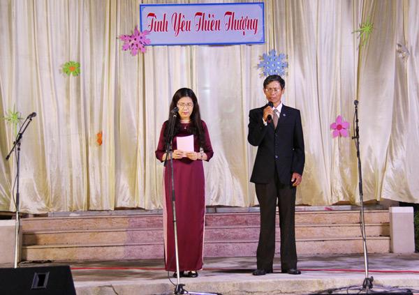 MSNC Võ Tiến Dũng, Quản nhiệm Chi Hội Thu Bồn, cầu nguyện dâng chương trình lên Chúa