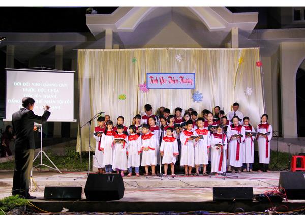 Ban hát Hội Thánh Thu Bồn