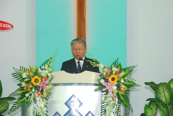 MS Phan Quang Thiệu, Tổng Thư Ký TLH, giảng luận