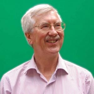 Giáo sư vật lý địa cầu Bob White.