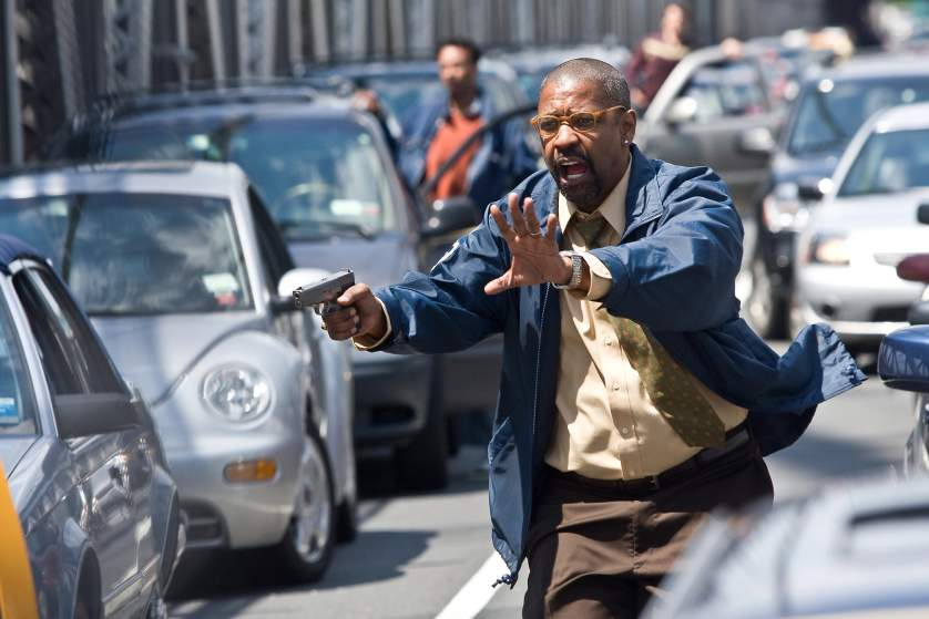 Diễn viên Denzel Washington dành được nhiều thành công với các vai diễn hành động.