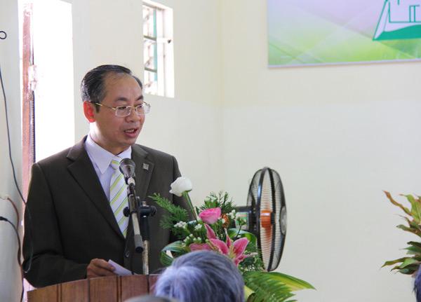 MSNC Nguyễn Hải Bằng thay mặt Ban Đại diện chúc mừng