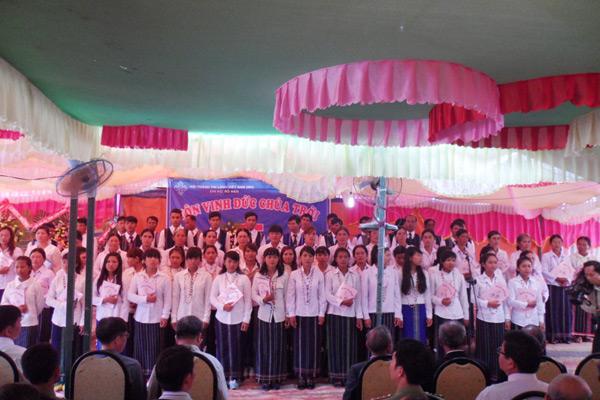 Ban hát tôn vinh Chúa