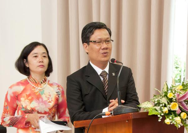 MSNC Đặng Đình Toàn - Tân Quản nhiệm HT An Phú Đông - bày tỏ tâm chí